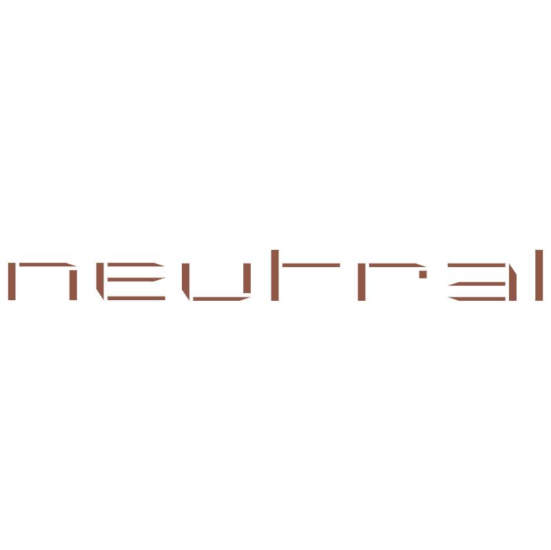 Neutral vector logo