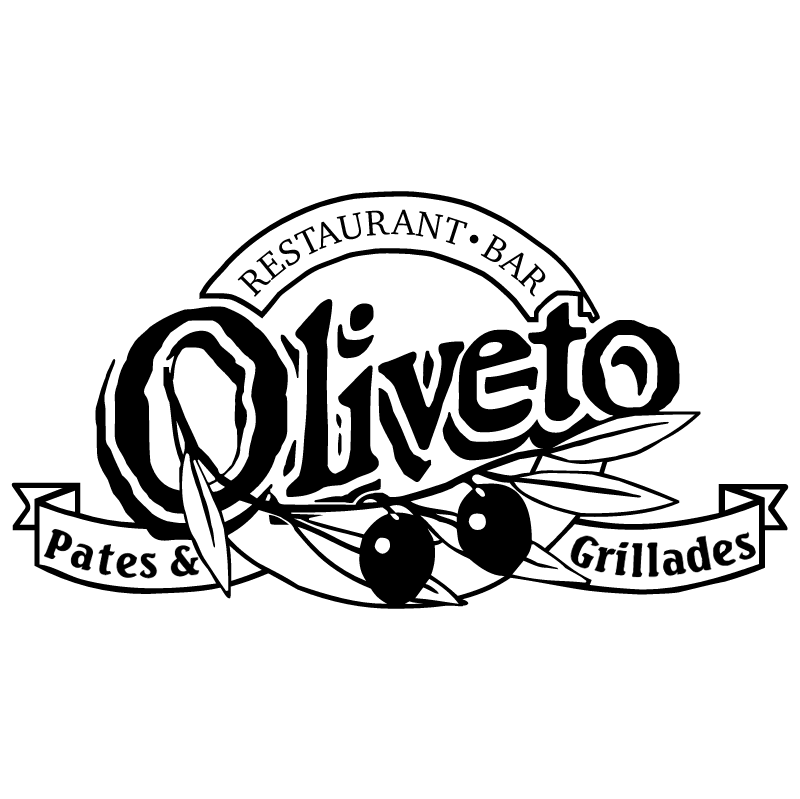 Oliveto Pates et Grillades vector