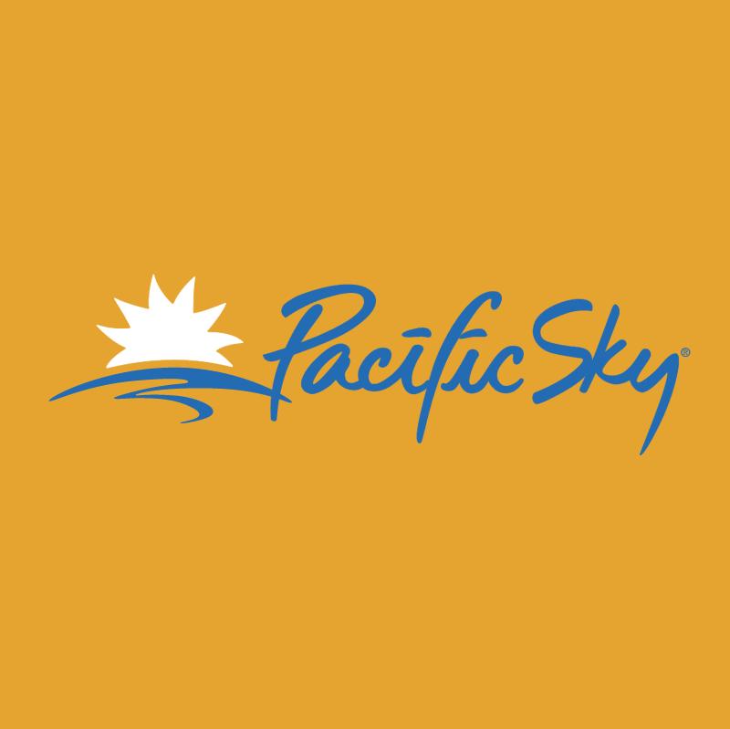 Pacific Sky vector