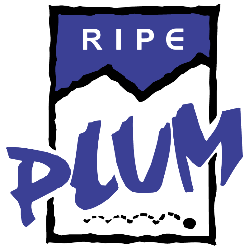 Plum vector logo