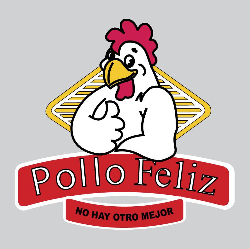 Pollo Feliz vector