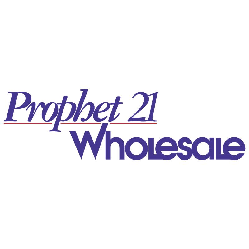 Prophet 21 Wholesale vector logo