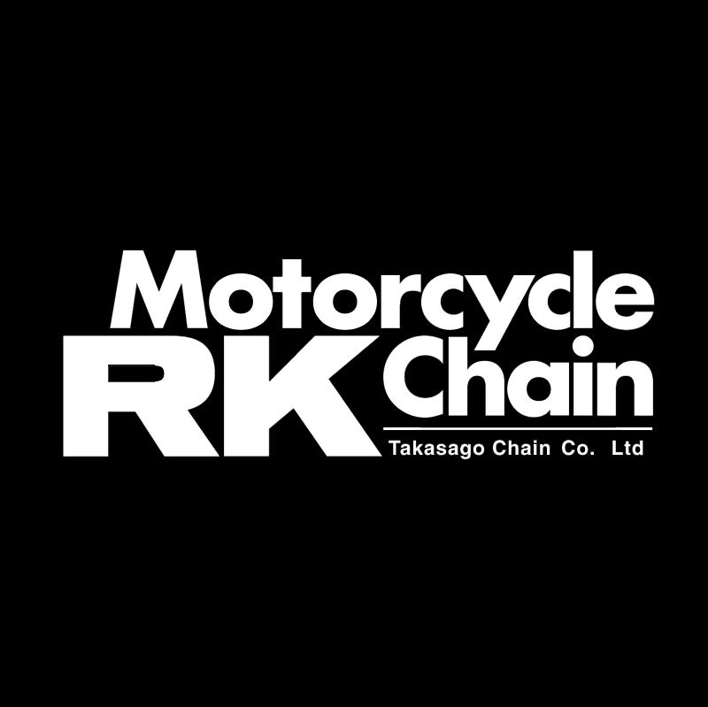 RK Motorcycle Chain vector