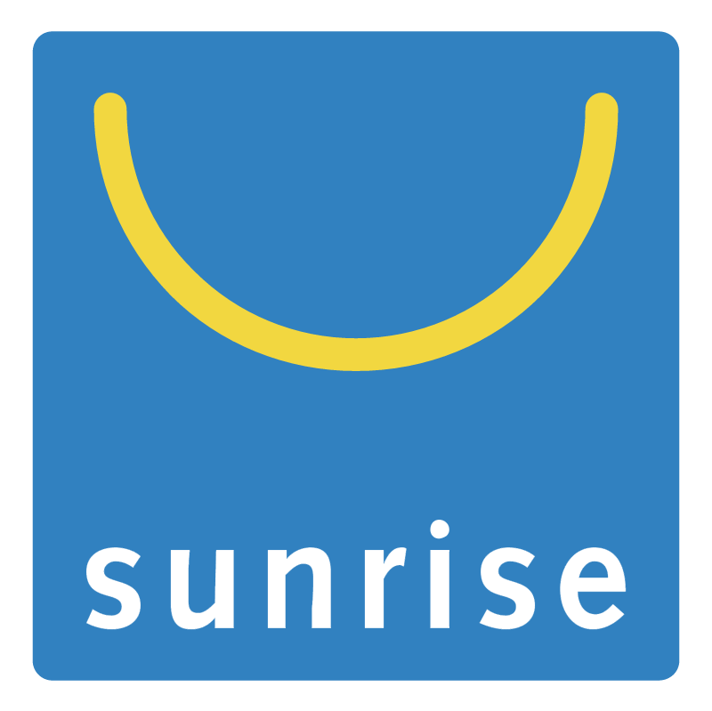 Sunrise vector logo