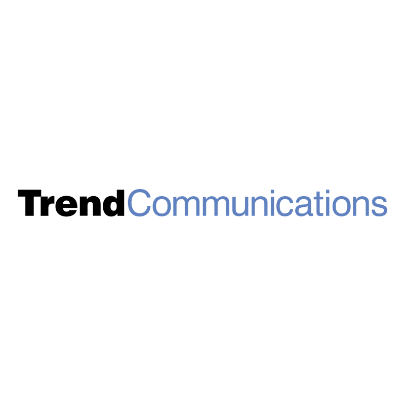 Trend Communications vector