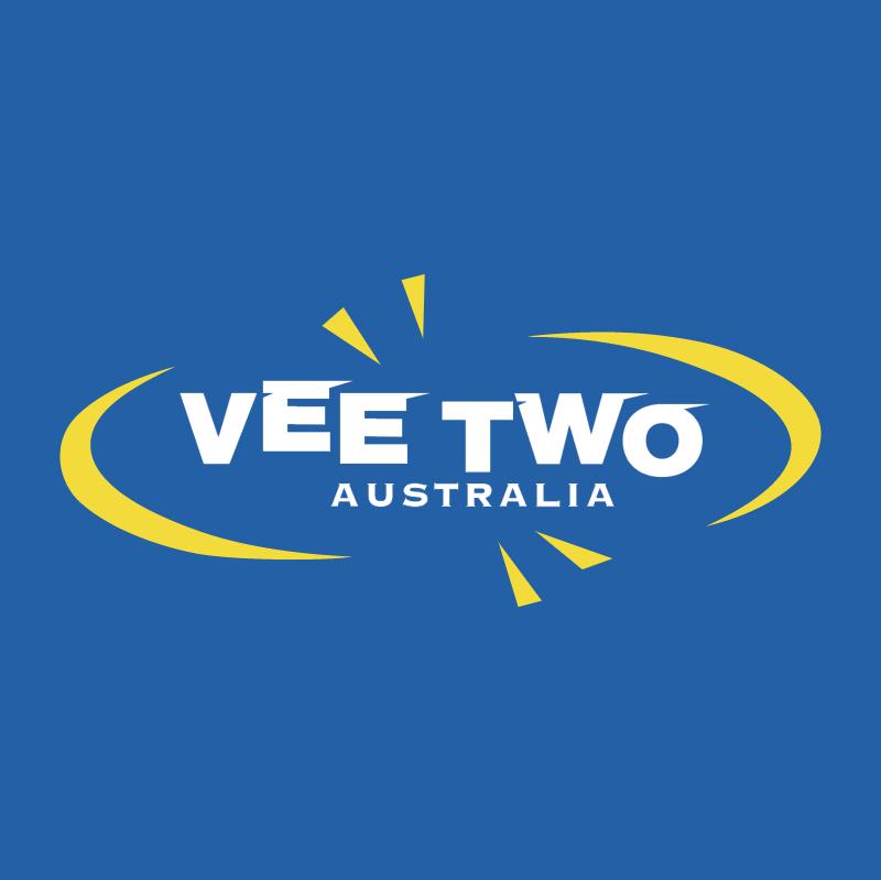 Vee Two Australia vector