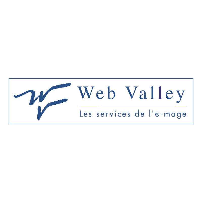 Web Valley vector