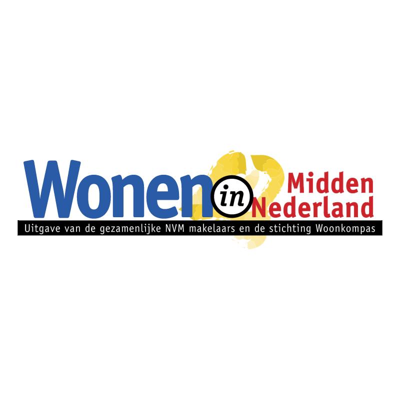 Wonen in Midden Nederland vector