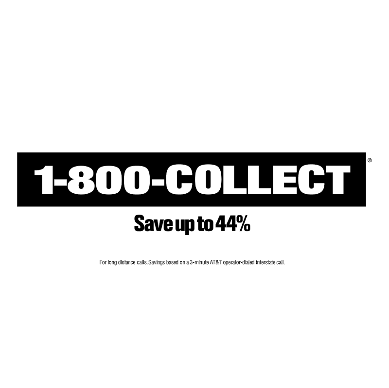 1 800 COLLECT vector