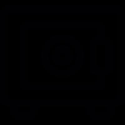 Banks Safe box vector logo