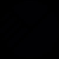 Pie chart diagram vector