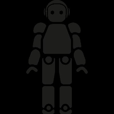 Robot of Japan vector logo