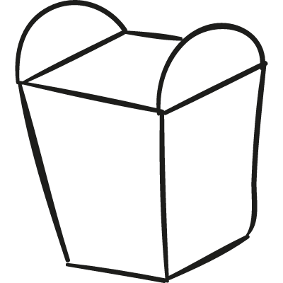 Food Box vector logo