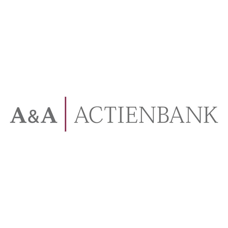 A&A Actienbank vector