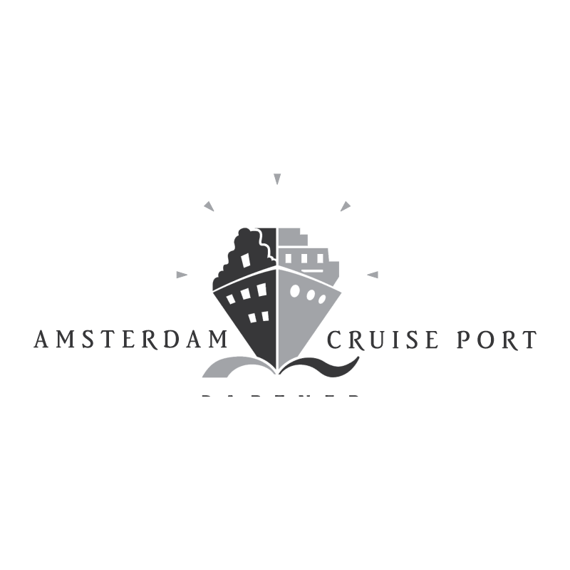Amsterdam Cruise Port vector
