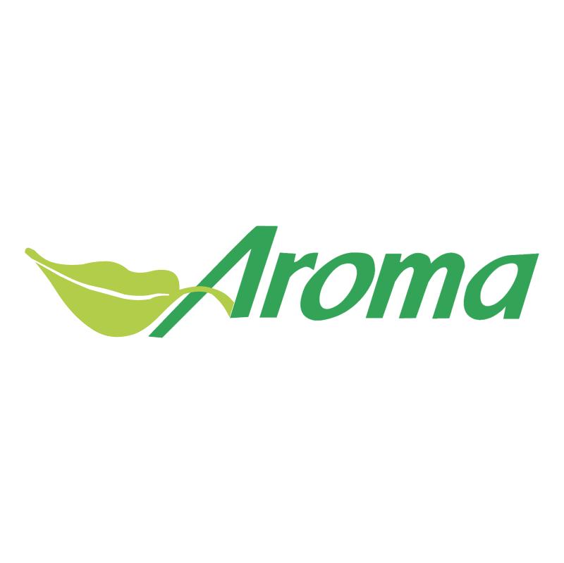 Aroma vector logo