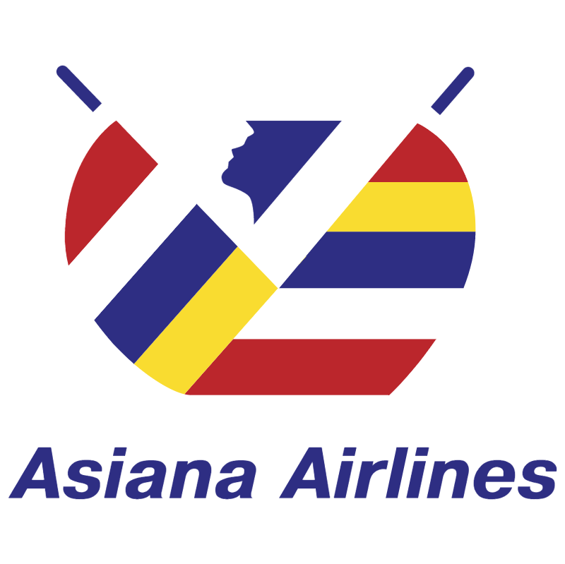Asiana Airlines vector