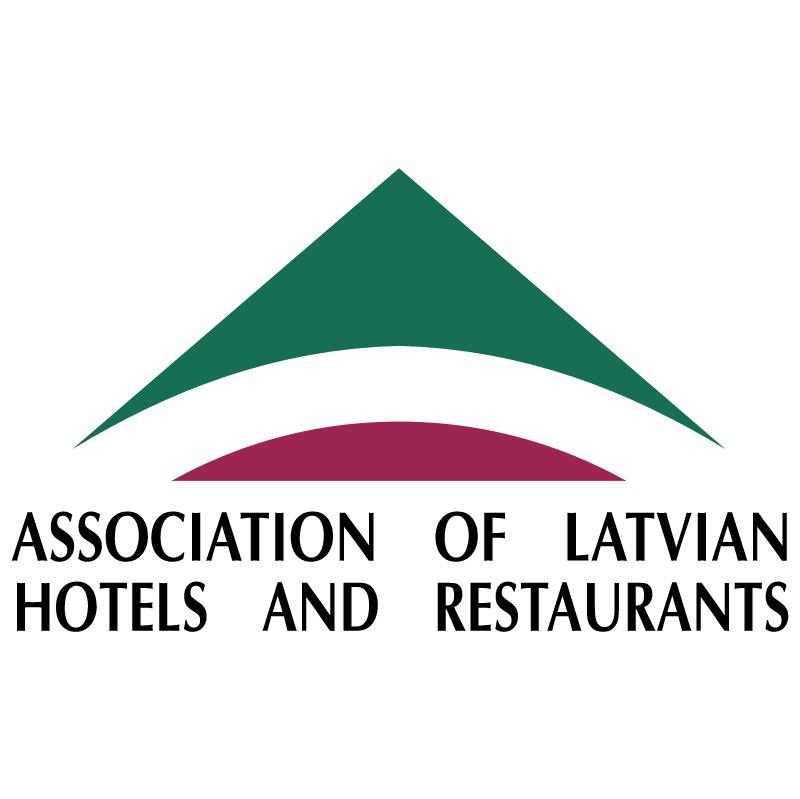 Association of Latvian Hotels and Restaurants 26888 vector
