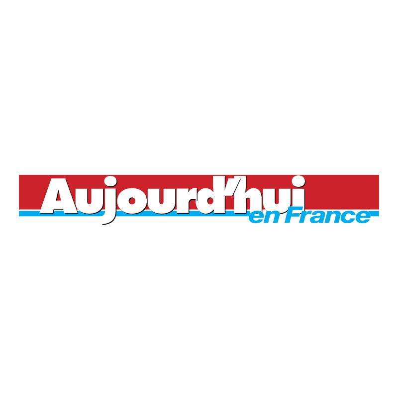 Aujourd'hui en France 64060 vector