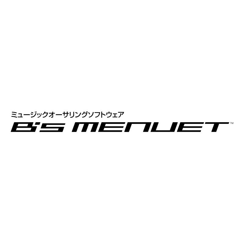 B's Menuet vector