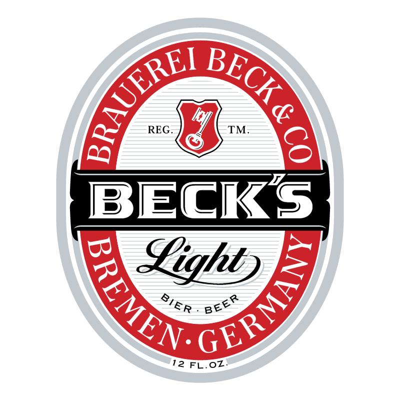 Beck's 47521 vector