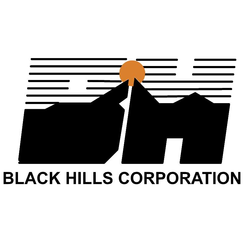 Black Hills vector