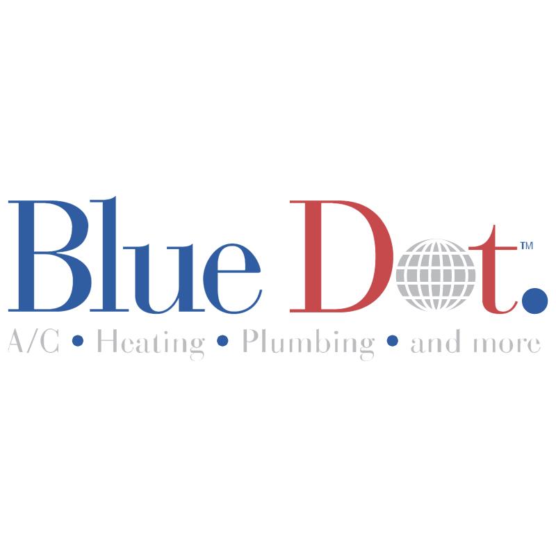 Blue Dot vector logo