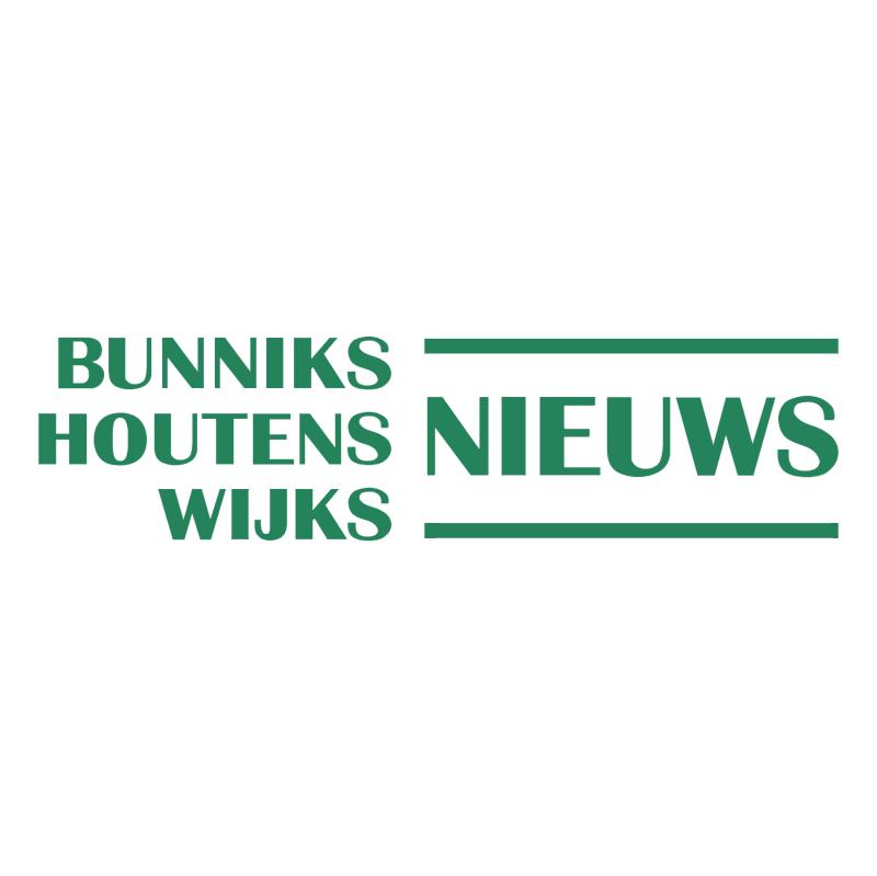 Bunniks Houtens Wijks Nieuws vector