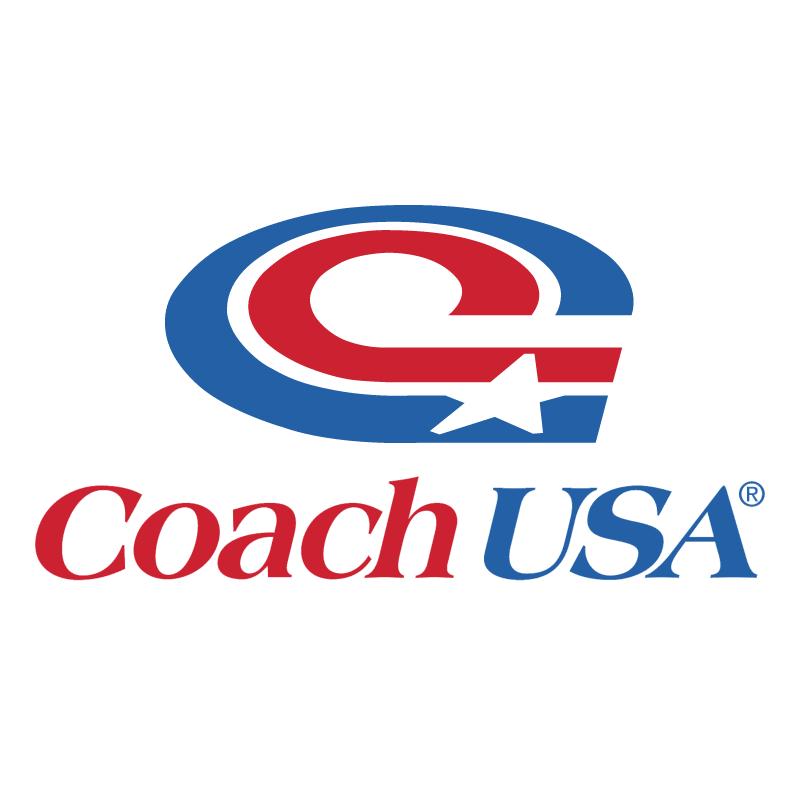 Coach USA vector