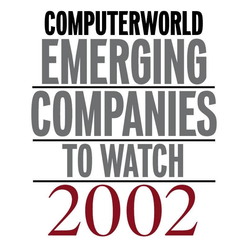 Computerworld Emerging Companies 2002 vector