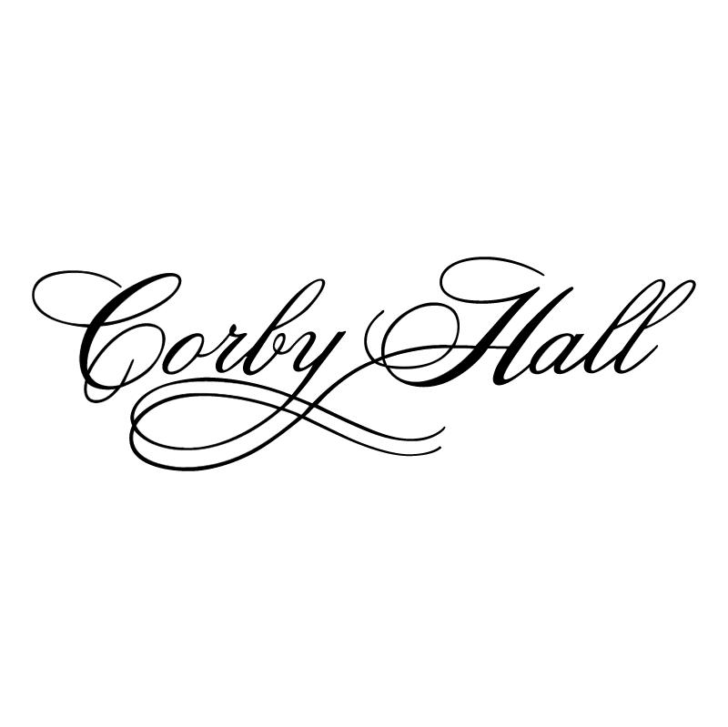 Corby Hall vector