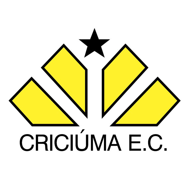 Criciuma Esporte Clube de Criciuma SC vector