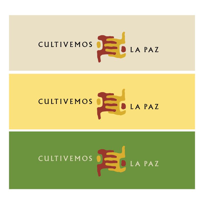 Cultivemos La Paz vector logo