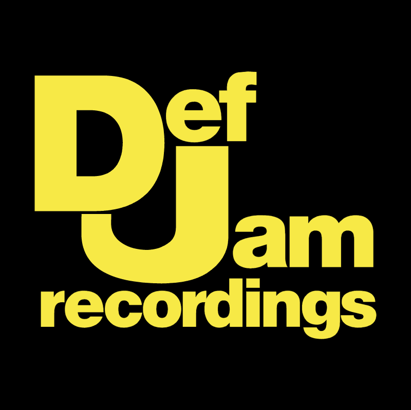 Def Jam Recordings Corporate logotype vector