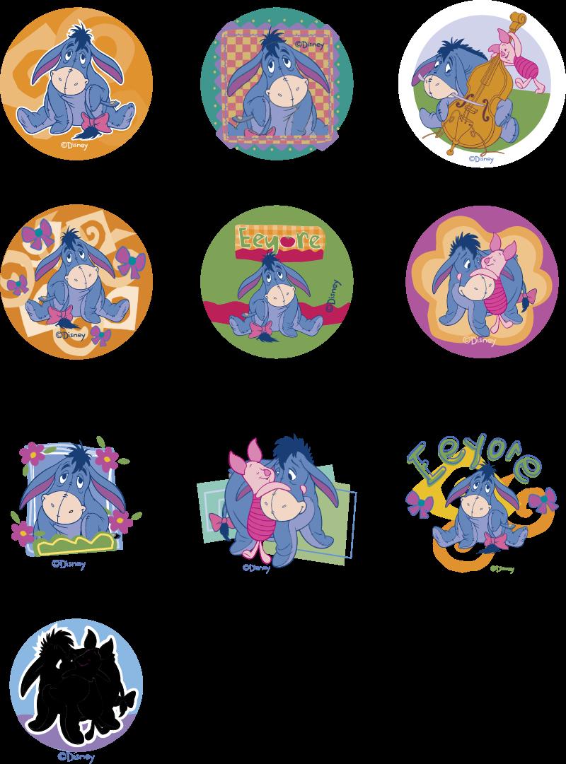 Disney's Eeyore vector