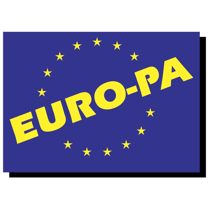 Euro Pa vector