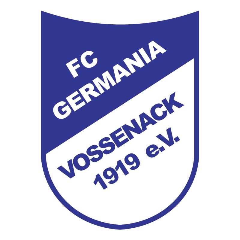 Fussballclub Germania Vossenack 1919 e V vector logo