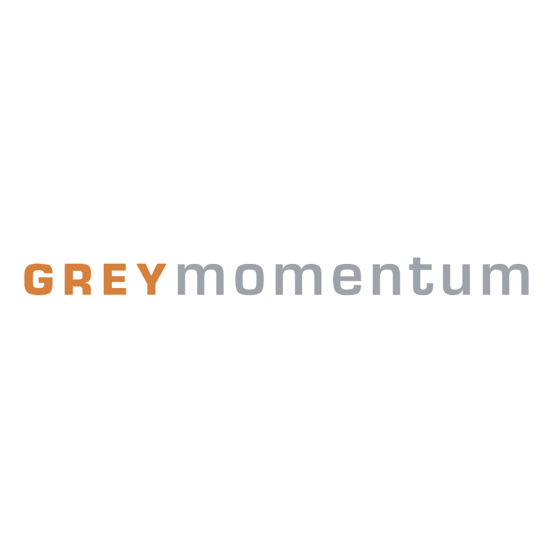 Grey Momentum vector