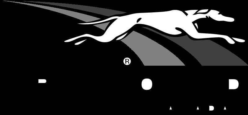 GREYHOUND CANADA vector