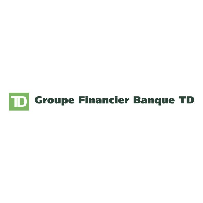 Groupe Financier Banque TD vector