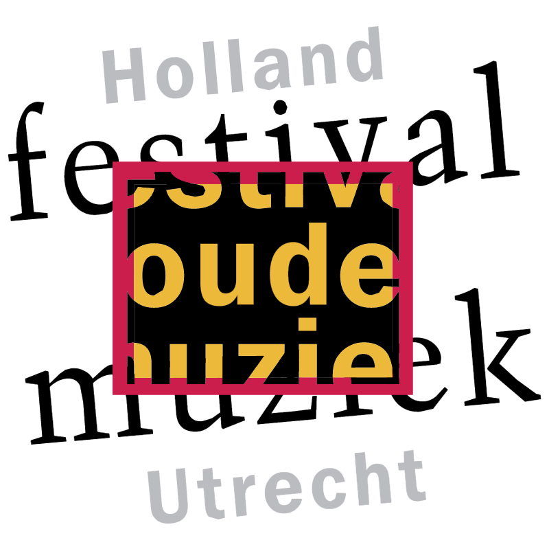 Holland Festival Oude Muziek vector