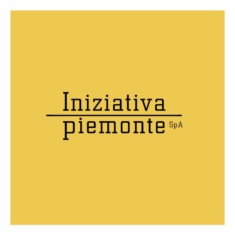 Iniziativa Piemonte vector