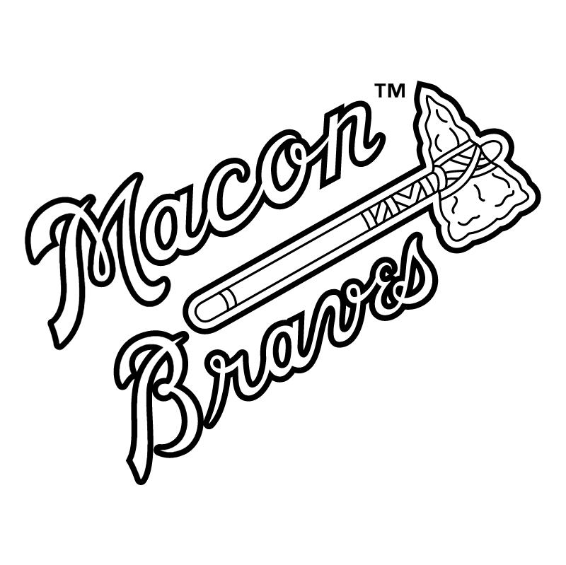 Macon Braves vector