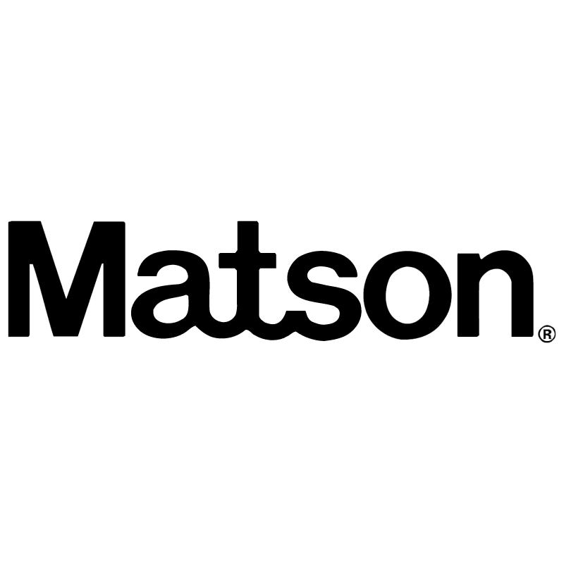 Matson vector logo