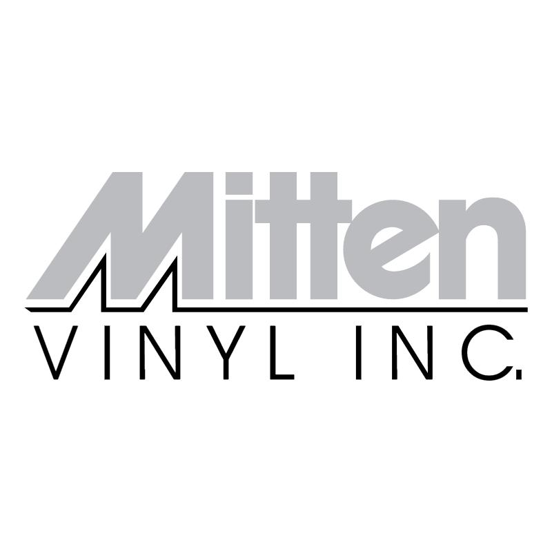 Mitten Vinyl vector