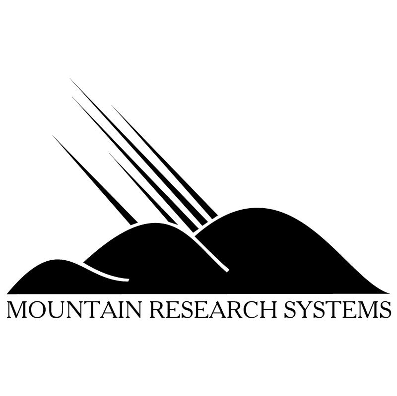 Mountain Research vector logo