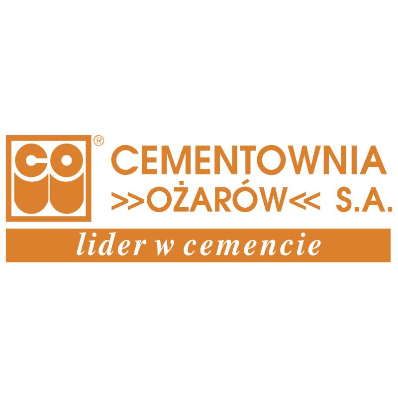 Ozarow Cementownia vector