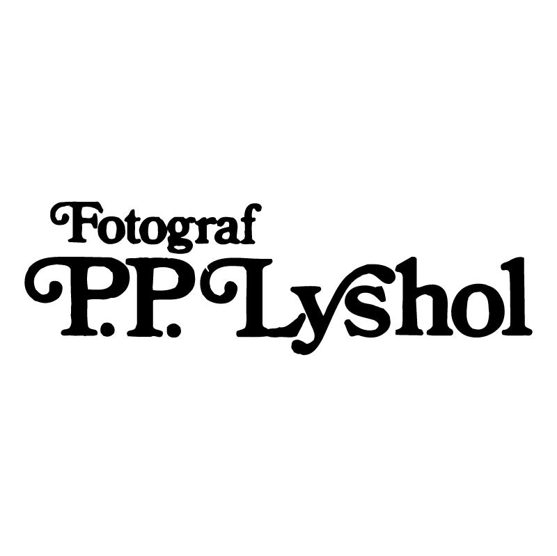 P P Lyshol vector logo