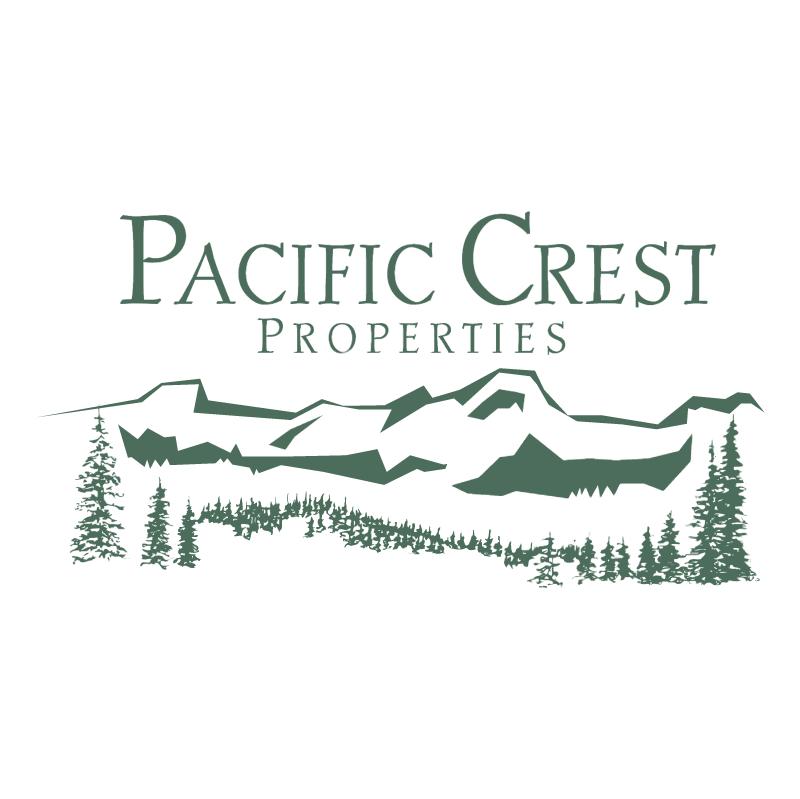 Pacific Crest Properties vector