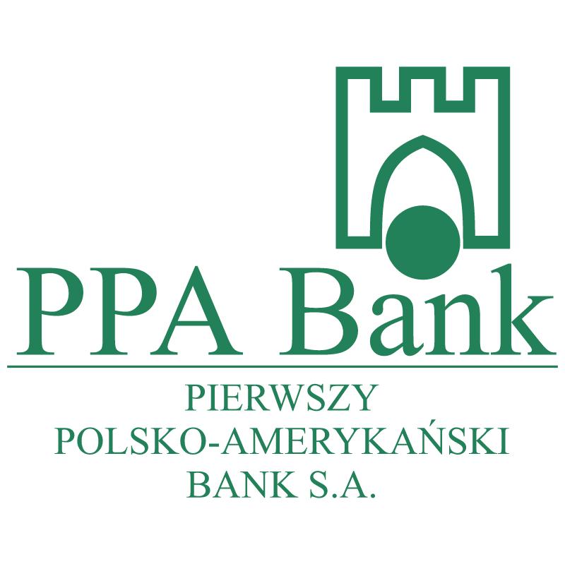 PPA Bank vector